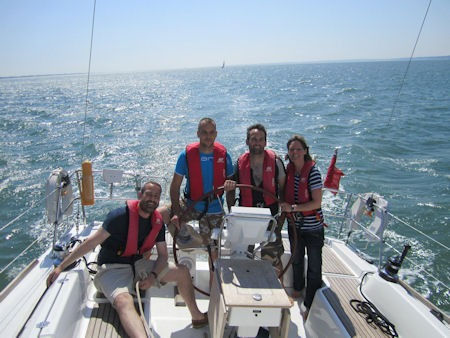 Sun sea & sail training :-)