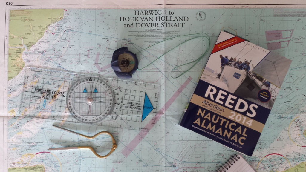 Learn how to Navigate at Sea
