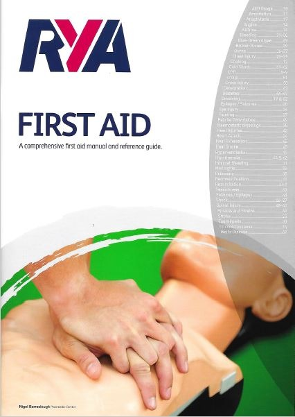RYA First Aid Manual