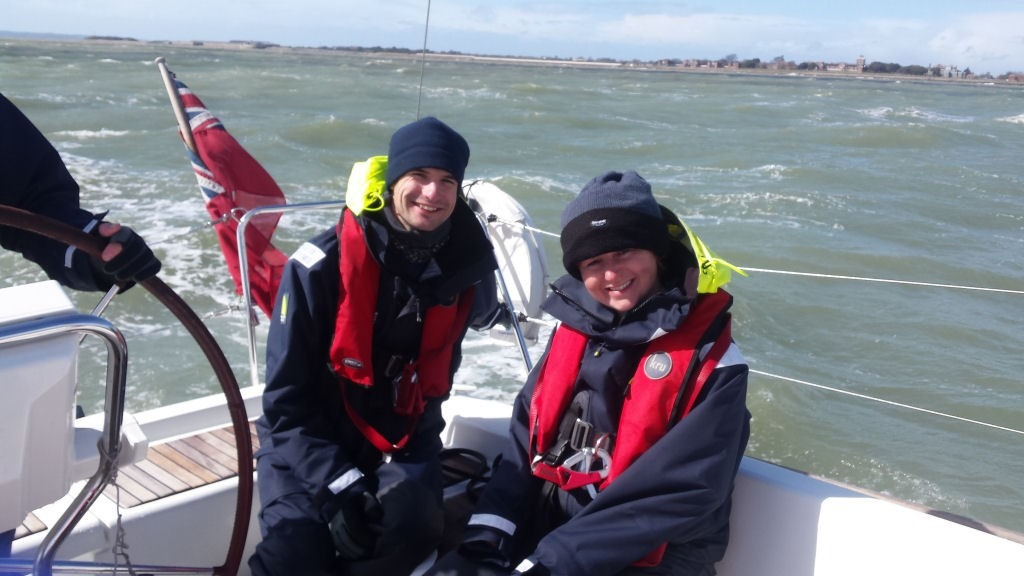 A gusty day in The Solent