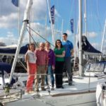 Ashore Sailing crew on Fairview Sailing yacht