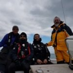 Dry but chilly at sea
