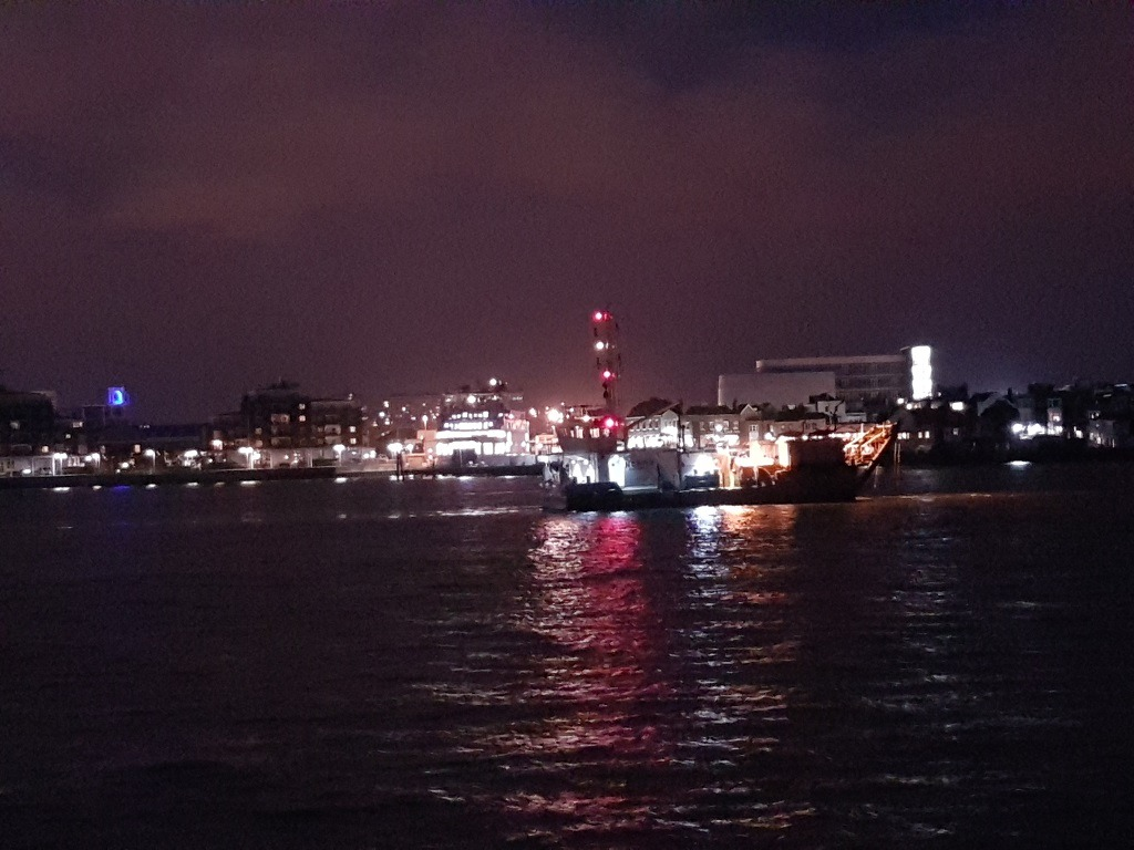 Vessel Restricted in Ability to Manoeuvre