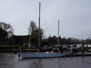 Gypsy Moth IV on the Beaulieu River