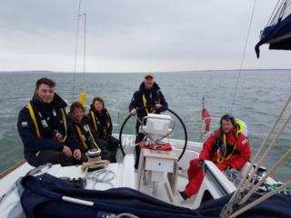 Team Soiree in The Solent
