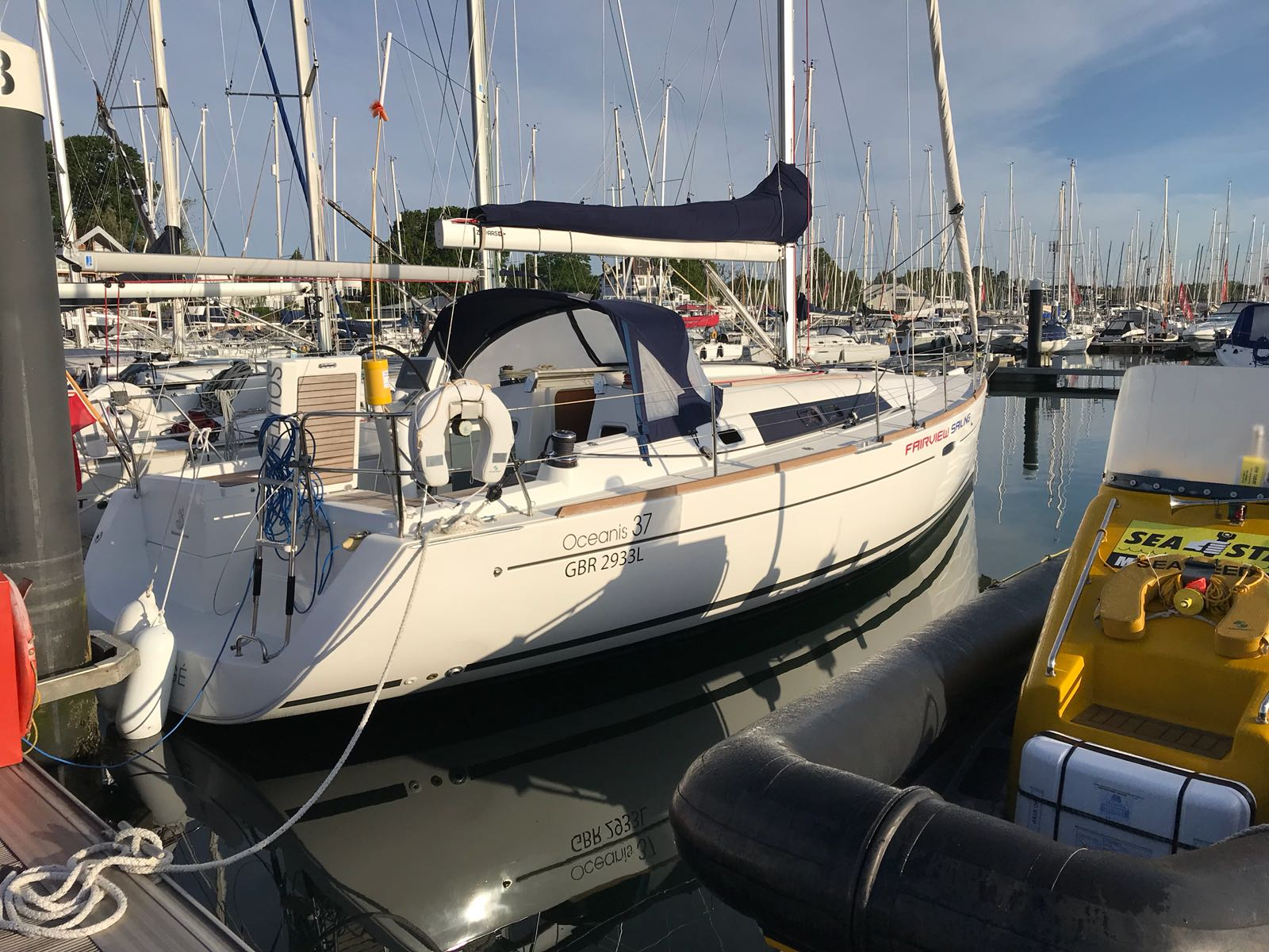 Protege ready for RYA Day Skipper course